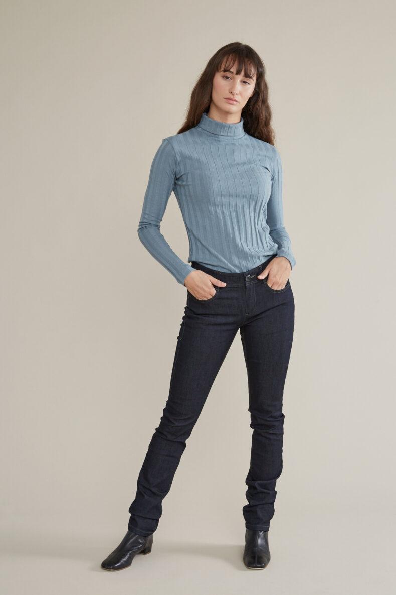 Tabitha Wermuth Langarm Shirt aus GOTS Biobaumwolle Emma Laufmeter