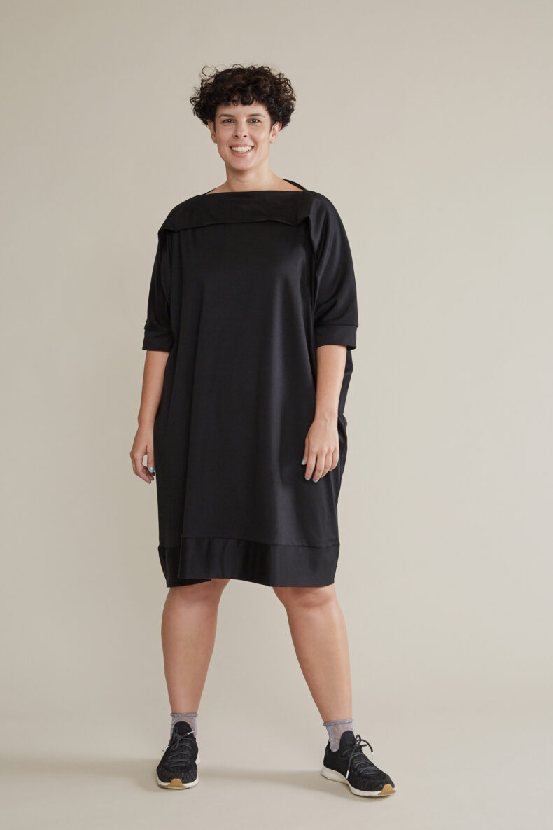 Sabine Portenier Shirt Dress Laufmeter