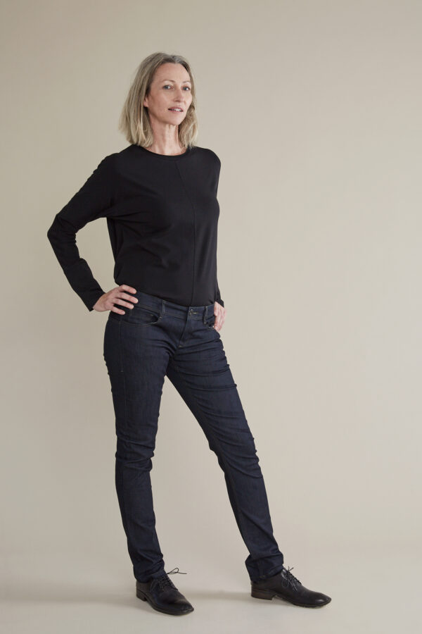 Claudia Güdel Jeans Laufmeter slim fit jeans frauen