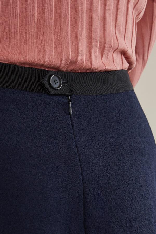 Sabine Portenier Skirt Box Pleat Laufmeter