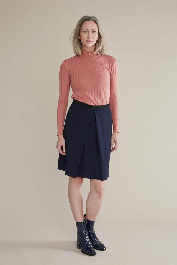 skirt box pleat