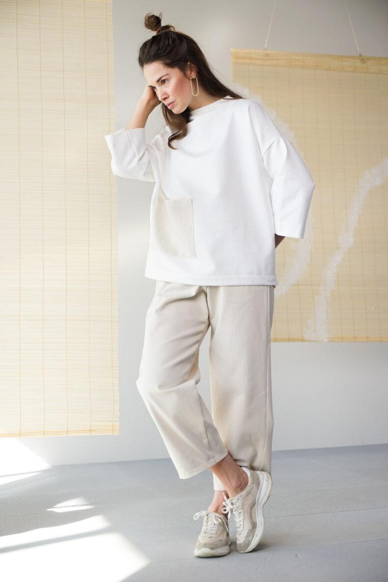 Sode Kimono Pullover Akemi Laufmeter