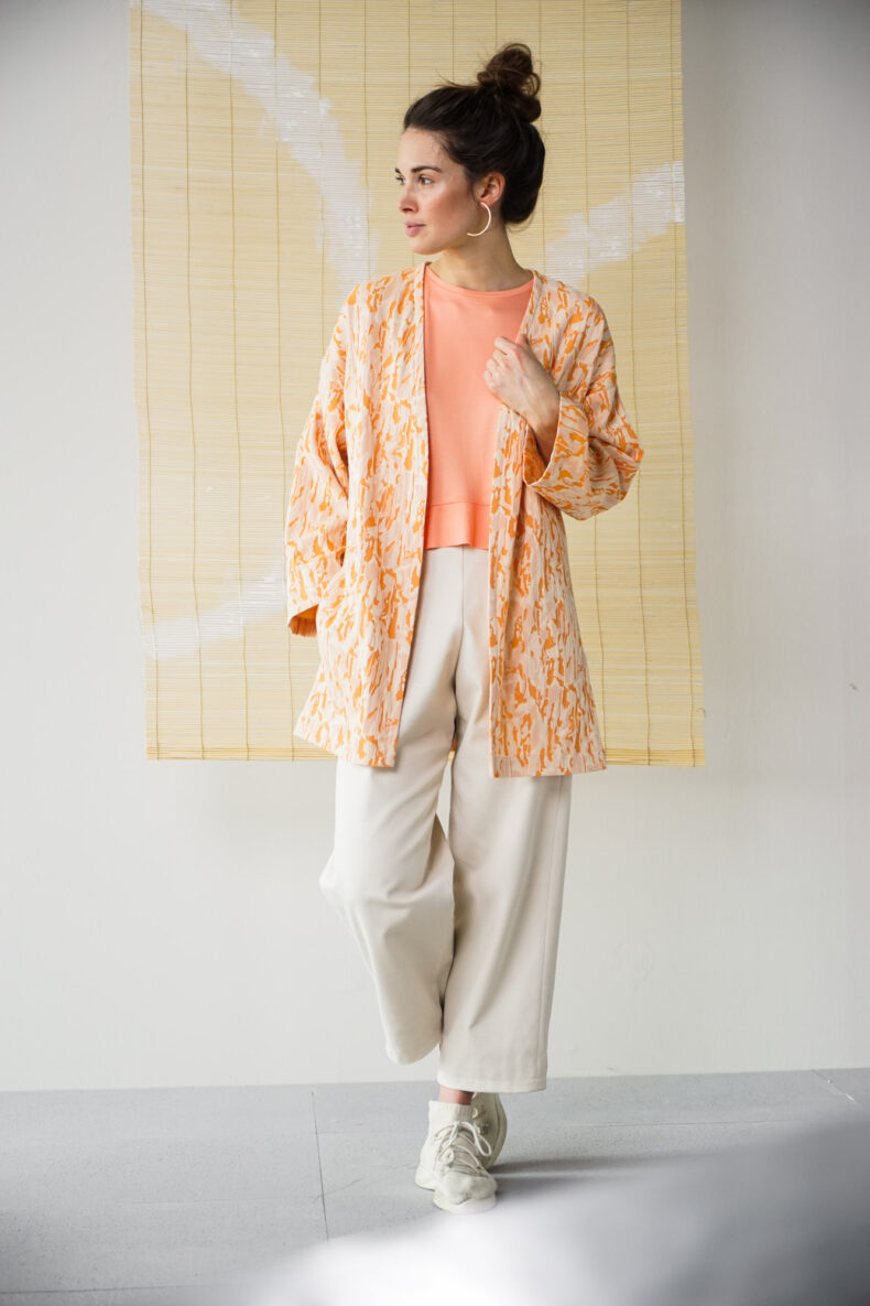 Sode Kimono Mantel Coat MEI Laufmeter