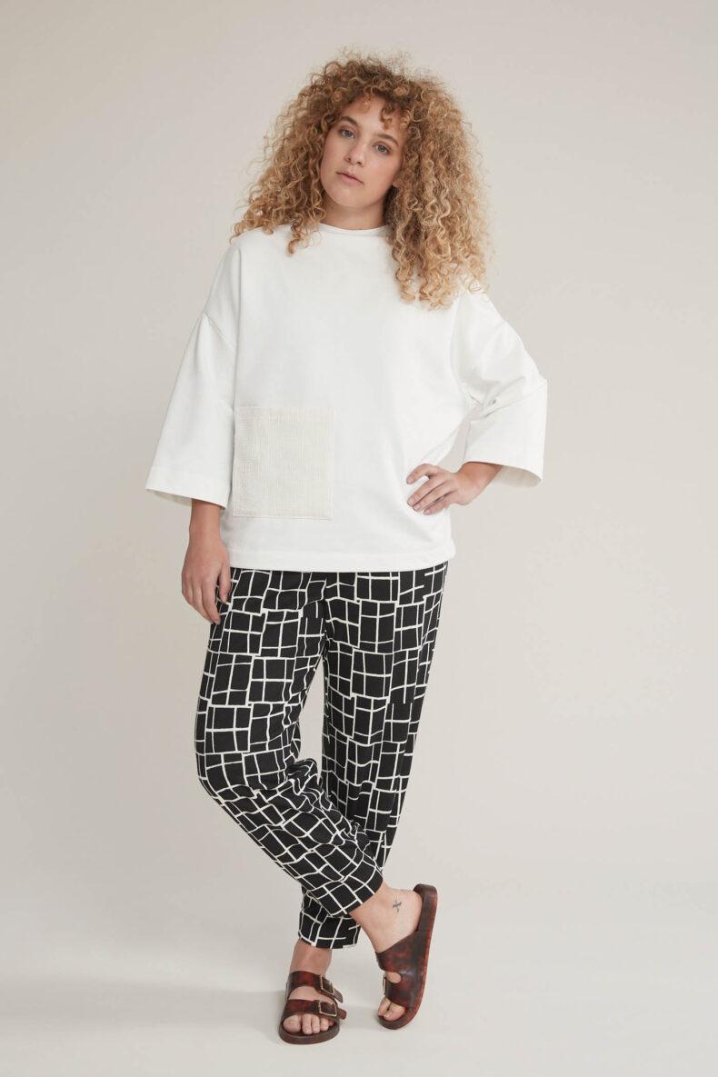 Laufmeter SODE Pullover AKEMI Kimono