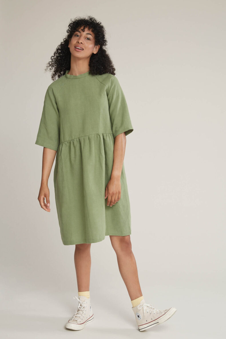 Laufmeter Tabitha Wermuth Kleid Mia
