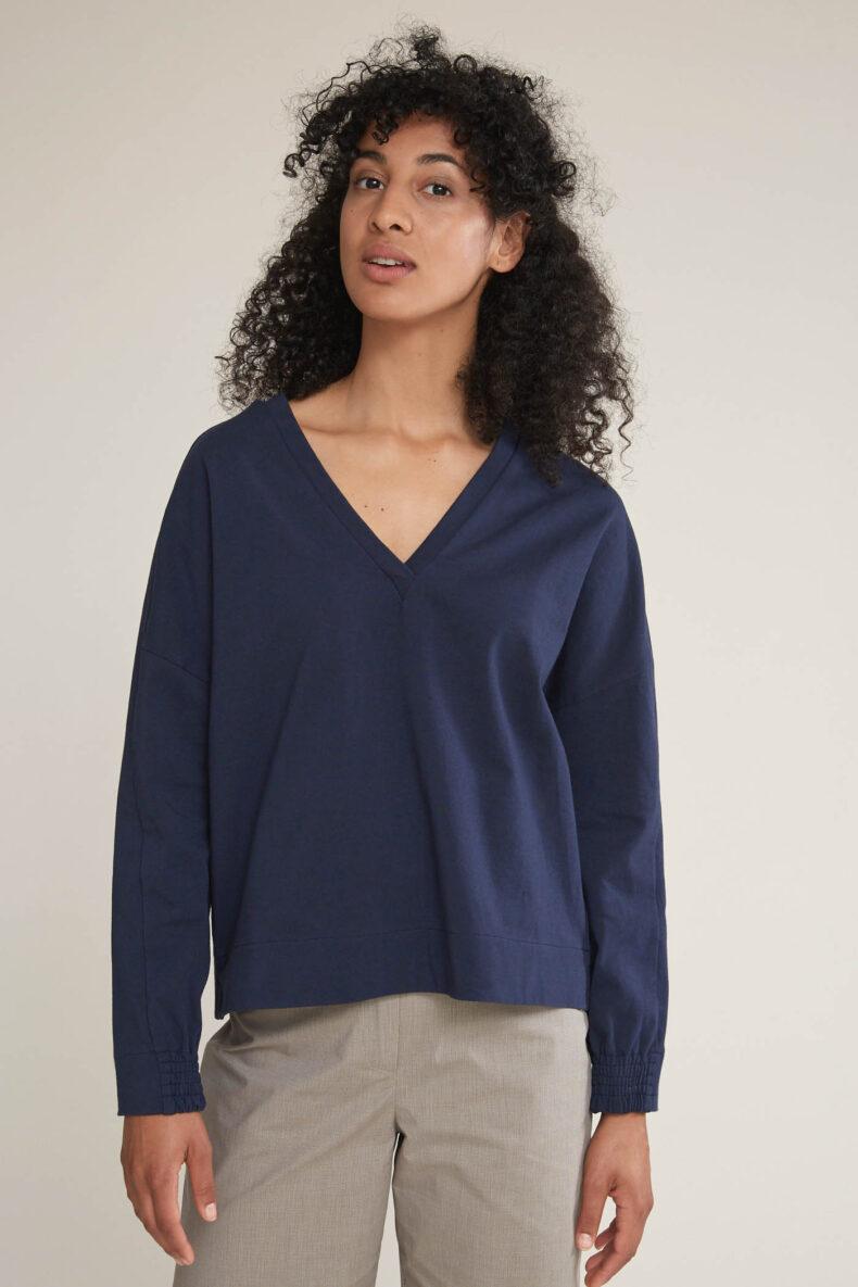 Nachhaltiger Pullover aus Baumwolle