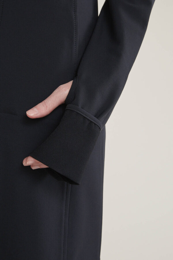 Laufmeter Claudia Güdel Ninja Zip Black Kleid
