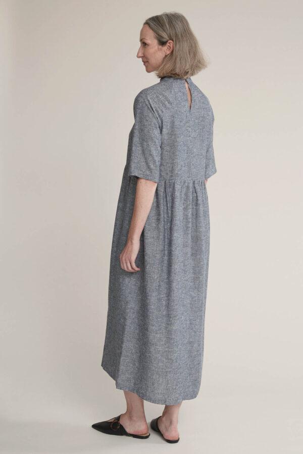 Laufmeter Tabitha Wermuth Kleid Mia Hanf/Tencel