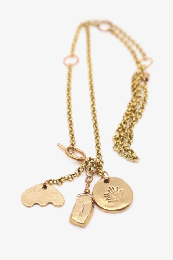 lili t. story necklace Halsketten handgefertigt laufmeter