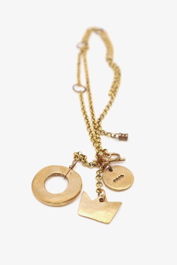 lili t. story necklace Bronze-Halskette laufmeter