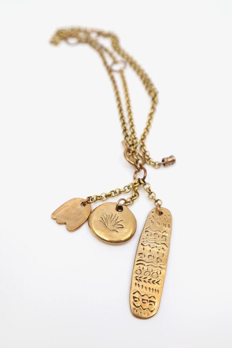 lili t. story necklace Lange Halskette laufmeter
