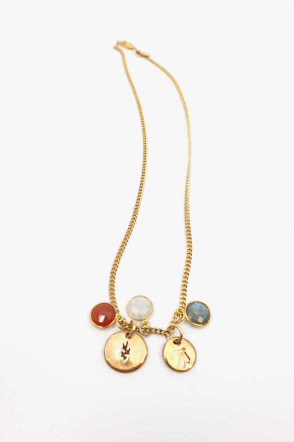 lili t. rainbow necklace laufmeter