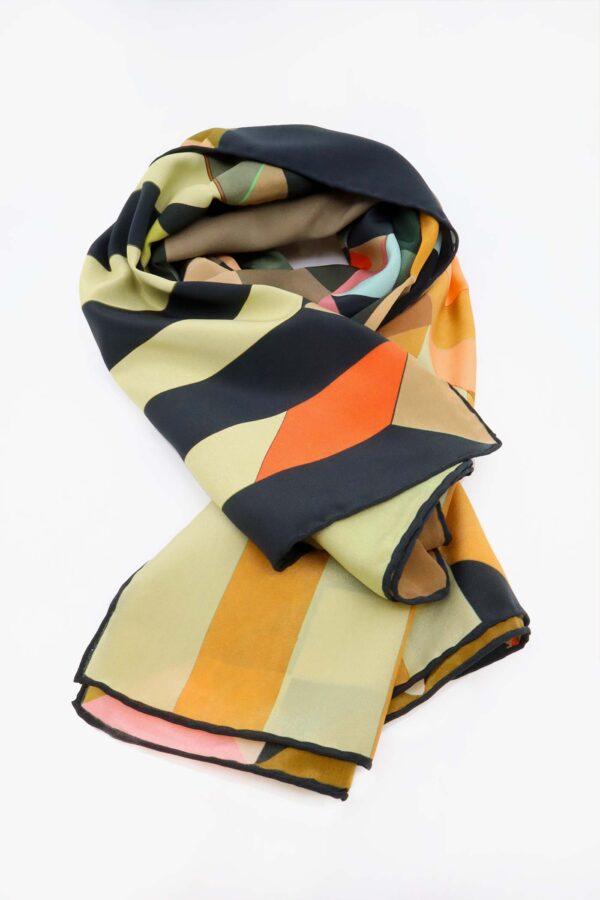 foulala grad foulard geometrique laufmeter