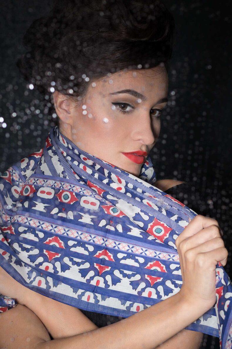 Schal von Nathalie Pellon