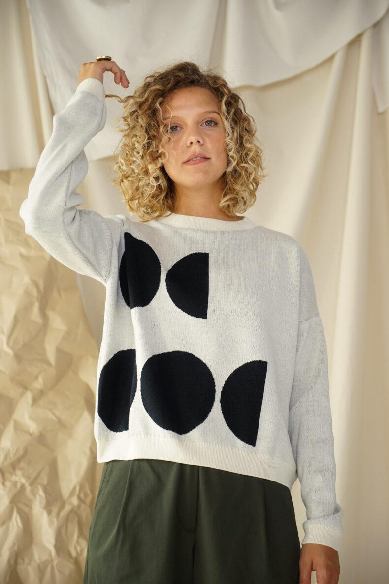 Nachhaltiger Pullover aus Merinowolle swiss made von SODE