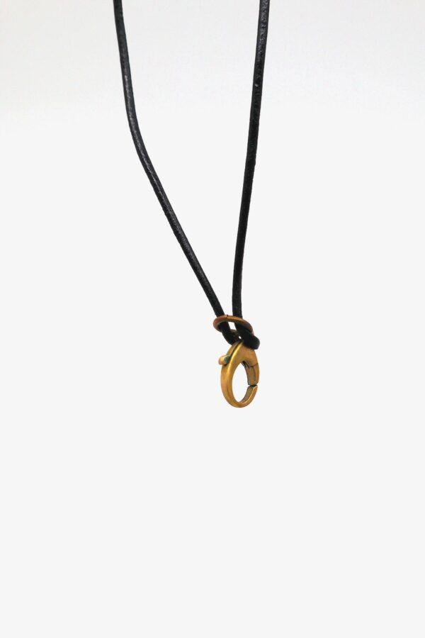 lili t bronze pick lederband halskette laufmeter