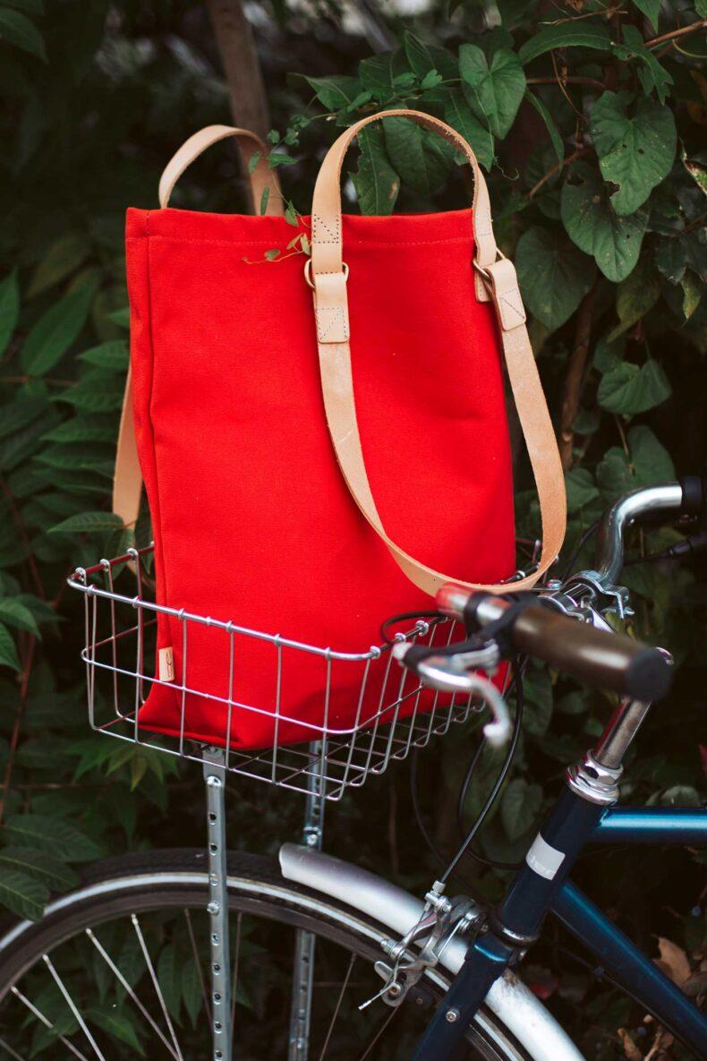 Shopper aus Baumwollsegelstoff