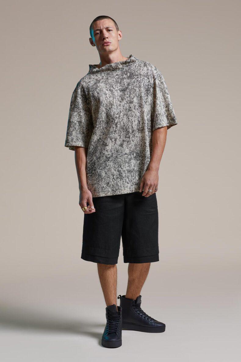 Shorts aus edlem Leinenstoff