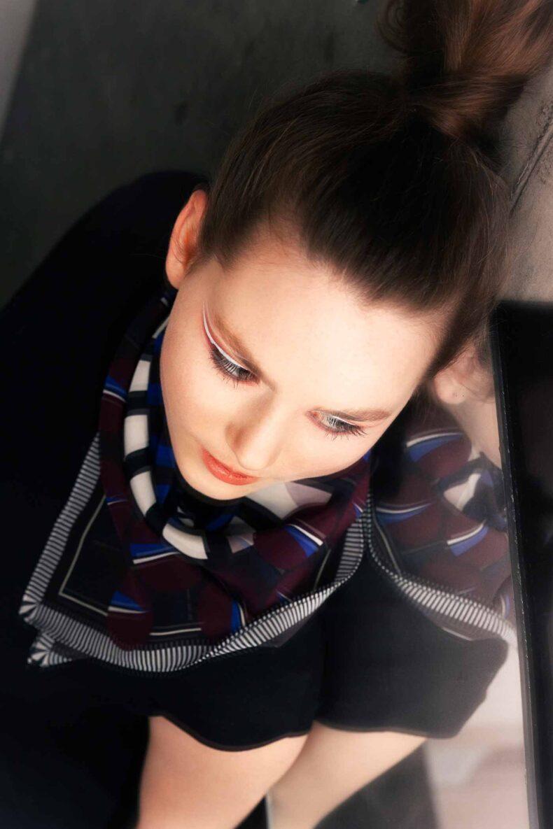 Schal «Meret» von Nathalie Pellon
