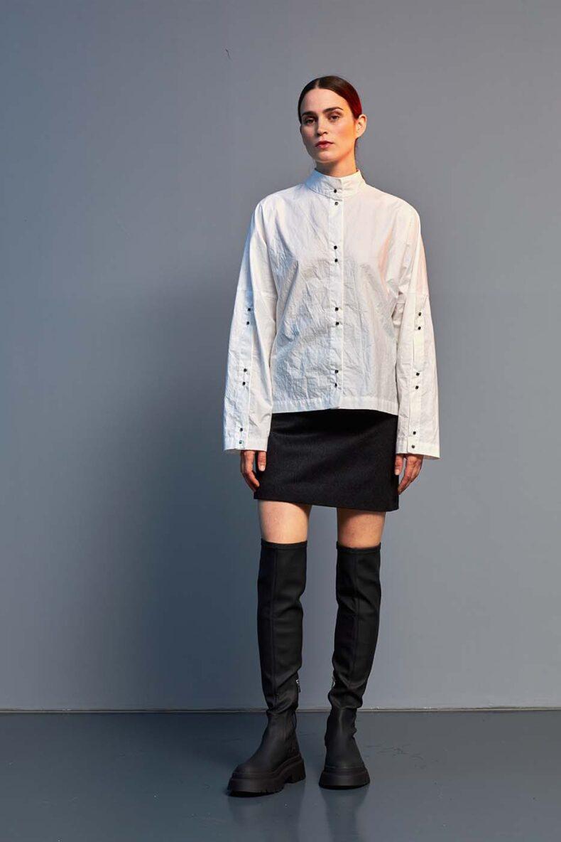 elegante Bluse aus Baumwolle
