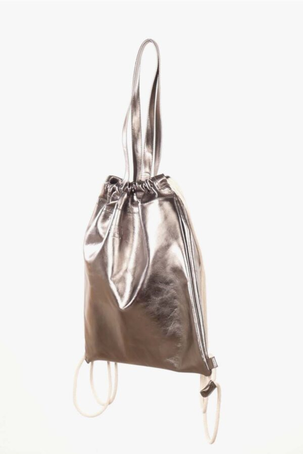 Rucksack aus Rindsleder
