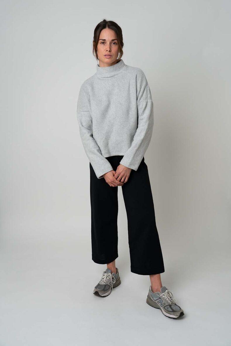Hose aus recycelter Bio-Baumwolle